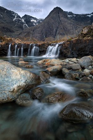 Fairy Pools March 2015. Glen Brittle. Isle of Skye. Scotland.