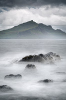 Ben Tianavaig from Braes Beach. Trotternish.  Isle of Skye. Scotland.