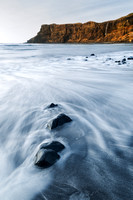 Talisker Beach.  Three Stones. Isle of Skye. Scotland.
