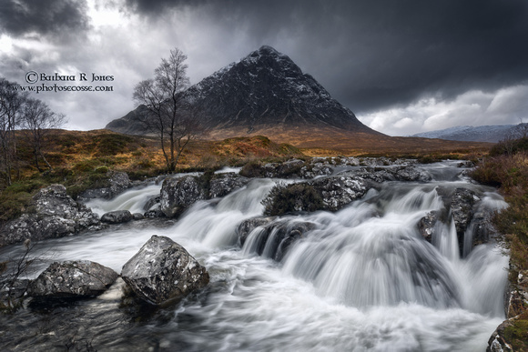 Buachaille Etive Mor. River Coupall. Glen Etive. Scotland.