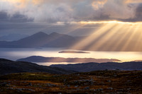 APPLECROSS and SHIELDAIG LANDSCAPES SCOTLAND.