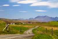 Eabost view towards Ullinish in Spring. Isle of Skye. Scotland.