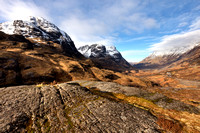 Glen Coe. From The Study. Late Winter.  Scotland.
