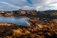 WESTER ROSS GAIRLOCH to ULLAPOOL LANDSCAPES SCOTLAND.