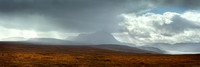 Ben Hope . 30 x 10 ins Pano.  A' Mhoine. Sutherland.  Scotland.