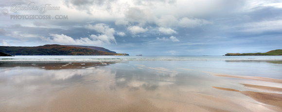 Balnakeil Beach. Moody Blues. Pano. Durness. Scotland.