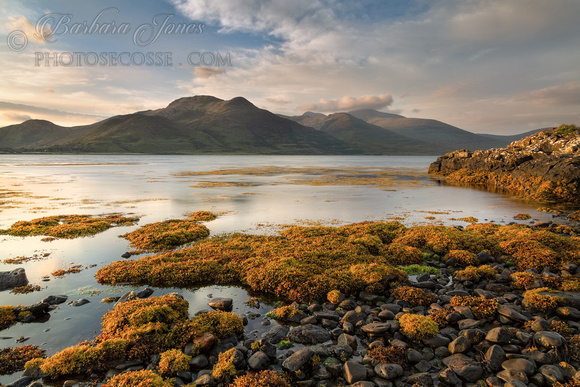 Ben More Hills Early Morning Loch Na Keal Isle of Mull