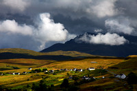 Cuillin Moods  Late Summer from Talisker, Isle of Skye, Scotland.