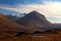 Marsco in February. Sligachan. Isle of Skye. Scotland.