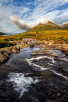 Glamaig and The Cloud. Sligachan. Isle of Skye. Scotland.