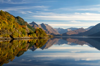 Five Sisters and Loch Duich,  from Inverinate . North West Highlands. Scotland.