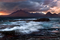 Elgol . June Storm. Loch Scavaig. Isle of Skye. Scotland.