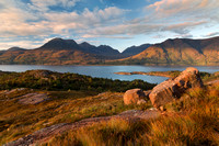 Beinn Alligin. Loch Torridon. Wester Ross. Scotland.