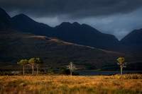 Beinn Alligin from Balgy. Upper Loch Torridon. Wester Ross. North West Highlands. Scotland.