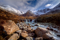 Fairy Pools in March Sunshine. Glen Brittle. Isle of Skye. Scotland.