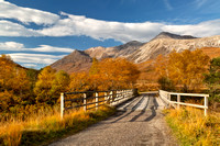Beinn Eighe in Autumn. Torridon. Coulin Estate. Wester Ross. Highland Scotland.
