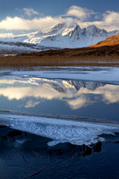 Blaven and Ice, Strath Suardal, Isle of Skye, Scotland. PF