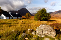 Blackrock Cottage. Glen Coe. Highland Scotland.