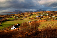 Tarskavaig in Winter Light. Sleat Peninsula. Isle of Skye. Scotland.