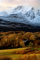 Blaven from Torrin. Winter. Isle of Skye. Scotland.
