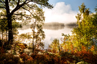 Loch Garry. Autumnal Light. Lochaber. Highlands of Scotland.