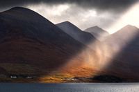 Essential Light. Red Cuillin. Isle of Skye. Scotland.