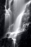Wailing Widow Falls in Mono. Sutherland. North West highlands of Scotland.