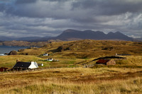 Culkein a view of Quinag. Assynt. Highland Scotland.