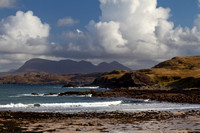 Culkein Bay and Quinag, Autumn. Assynt. Highland Scotland.