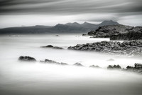 Mellon Udrigle. Long Exposure in Mono. Wester Ross. Scotland.