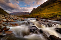 Glen Etive. Western Highlands. Scotland.