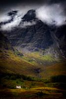 Blaven in the Mist. Torrin. Isle of Skye. Scotland.