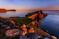 Neist Point in late Spring. Isle of Skye. Scotland.