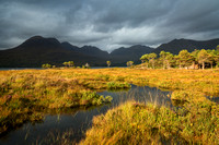 Beinn Alligin.  Peat Pool. Torridon. Wester Ross. Scotland.