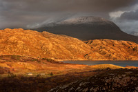 Beinn Alligin and Tom na Gruagaich. Torridon. Wester Ross. Scotland.