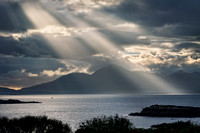 Badicaul. Skye Sunbeams #2. Loch Alsh. North West Highlands. Scotland.