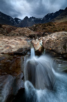 Fairy Pools in March 2015. Glen Brittle. Isle of Skye. Scotland.