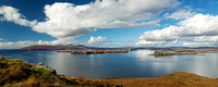 Portnalong Panorama 30x12 inches. Isle of Skye. Scotland.