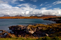 Achnahaird view. Coigach. North West Geopark.North West Highlands. Scotland.