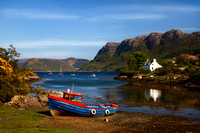 Plockton in Spring. North West Scotland.