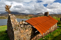 Ruin at Achlyness. Loch Inchard. Sutherland. Scotland.
