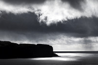 Minginish Cliffs from Oronsay Island. Isle of Skye. Scotland.