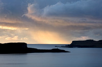 Oronsay Island. Winter Sunset. Isle of Skye. Scotland.