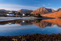 Luib, reflections on a Winter morning. Isle of Skye. Scotland.