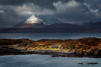 Tarskavaig Bay. Fleeting Light in Winter. Isle of Skye. Scotland.