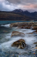 Blaven from Camus Malag in December. Isle of Skye. Scotland.