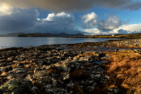 MacLeods Tables. From Ullinish. Winter. Isle of Skye. Scotland.