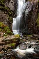 Wailing Widow Waterfalls. Assynt. North West Highlands of Scotland.
