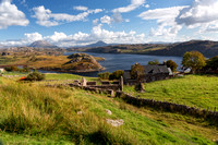 Loch Inchard View. Late Summer. Badcall. Sutherland. Scotland.