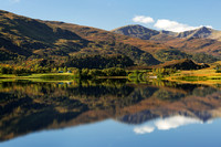 Glen Strathfarrar. Loch Beannacharan. North West Highlands. Scotland.